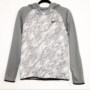 NIKE| Youth Gray ThermaFit Training Hoodie XL